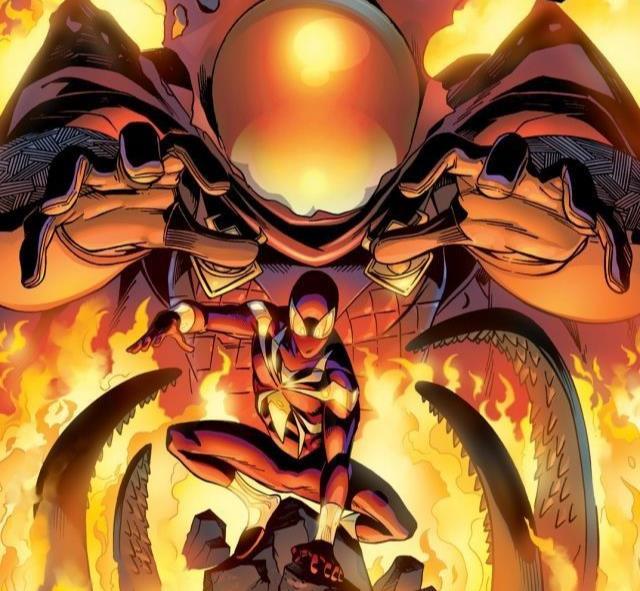 Dettaglio della cover di Friendly Neighborhood Spider-Man #13