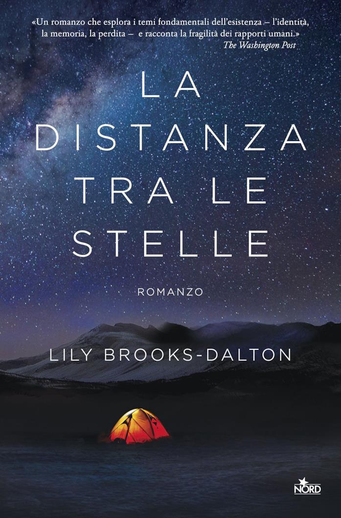 Copertina del libro La distanza tra le stelle