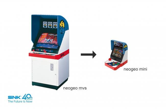 Come apparirà il Neo Geo Mini