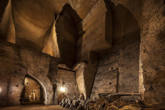 La Galleria Borbonica Sotterranea è una delle location