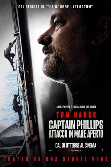 Poster Captain Phillips - Attacco in mare aperto
