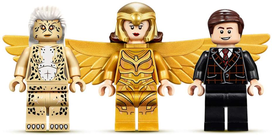 Cheetah, Wonder Woman e Maxwell Lord in versione LEGO