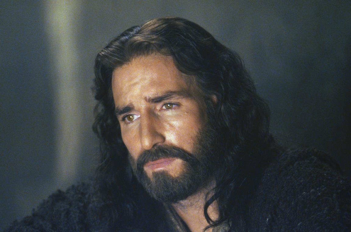 Un'immagine di Jim Caviziel ne La Passione di Cristo