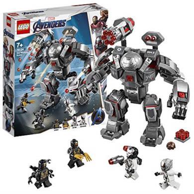 LEGO 76124 Super Heroes War Machine Buster, Include 4 Minifigure, Set di Costruzioni e Idea Regalo per Bambini + 8 Anni e per Tutti gli Appassionati di Marvel Avengers