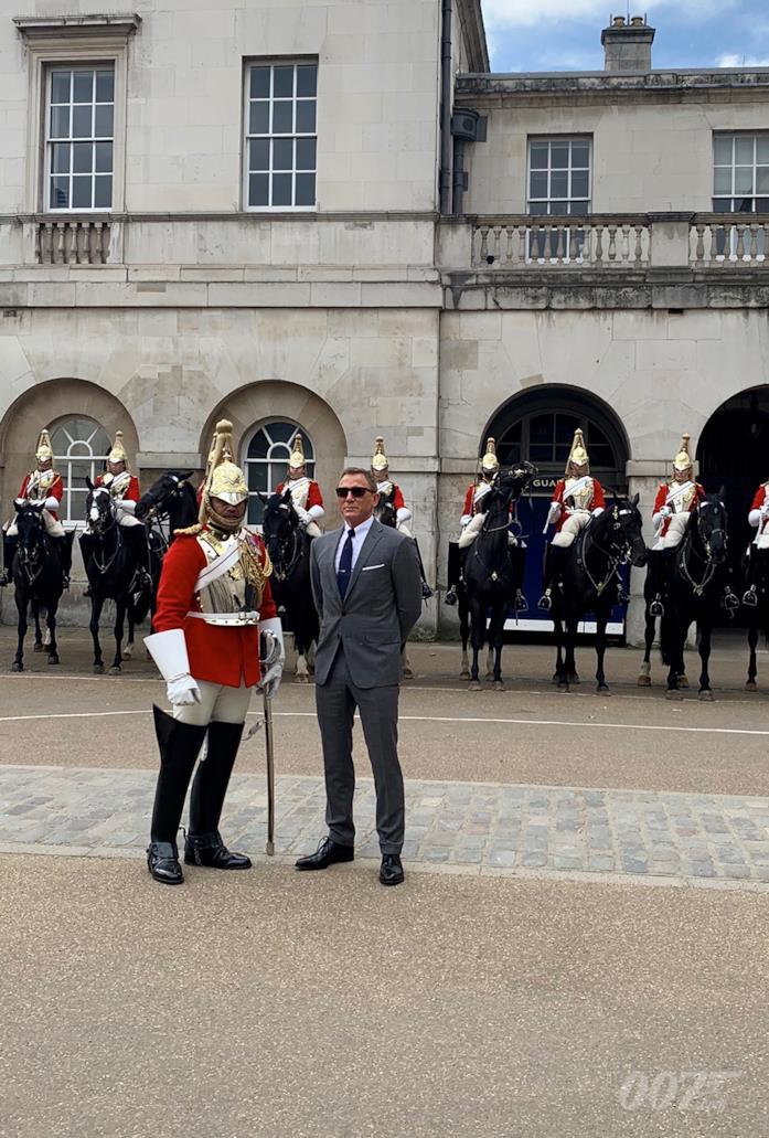 Bond 25, Craig sul set a Westminster