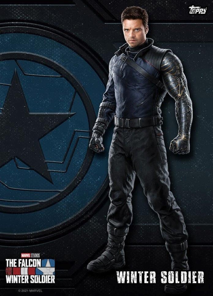 Sebastian Stan è Bucky Barnes/Winter Soldier