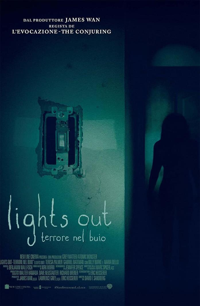 Copertina del cofanetto Blu-ray di Lights Out