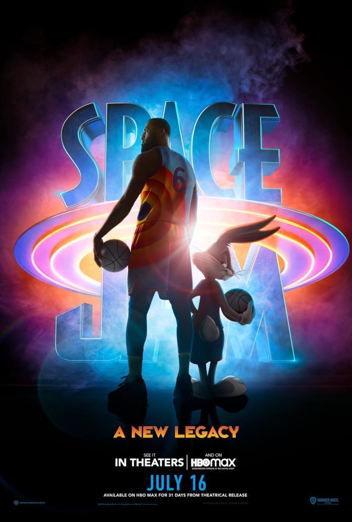 Il nuovo poster di Space Jam: New Legends