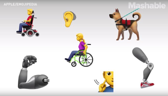 Alcune delle nuove emoji approvate dall'Unicode Consortium