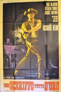 Poster Uno sceriffo tutto d'oro