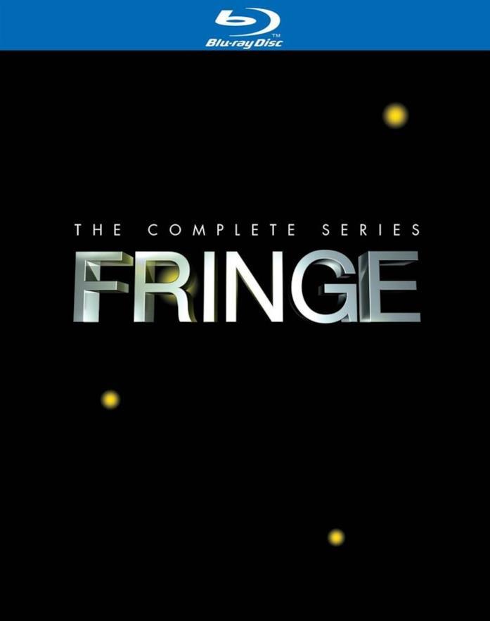 Copertina del cofanetto Blu-ray di Fringe