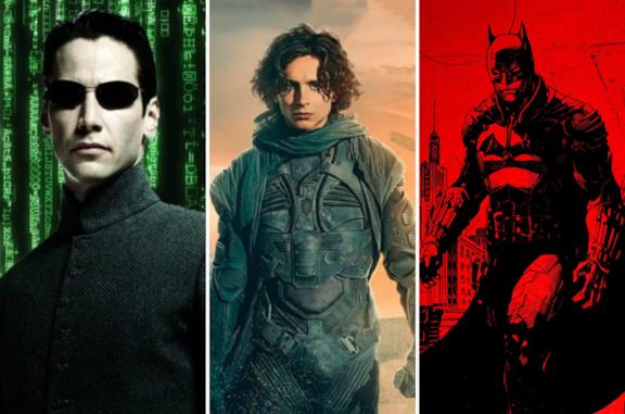 Matrix, Dune e The Batman