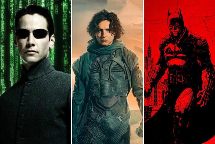 Matrix, Dune e The Batman