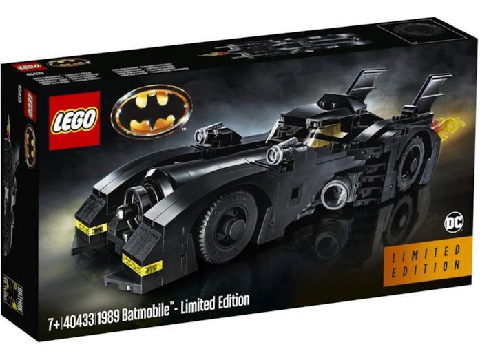 Il Set LEGO 40433 Batmobile (1989) Limited Edition (scatola)