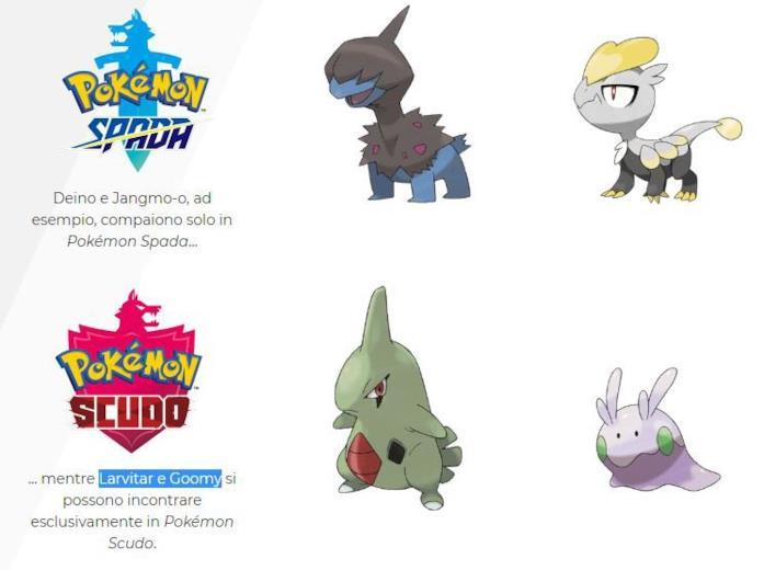 Game Freak presenta i nuovi Pokémon di Spada e Scudo