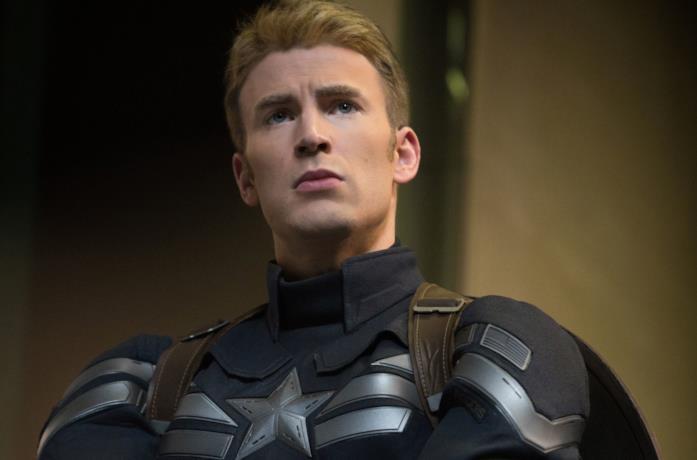 Chris Evans è Captain America