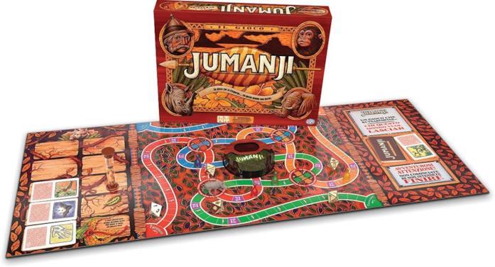 Il gioco da tavolo di Jumanji