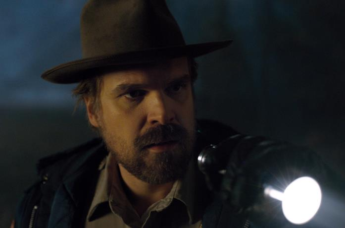David Harbour è lo sceriffo Hopper in Stranger Things