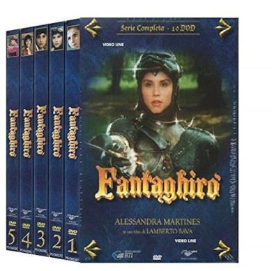 Cofanetto DVD di Fantaghirò - Stagioni 1-5