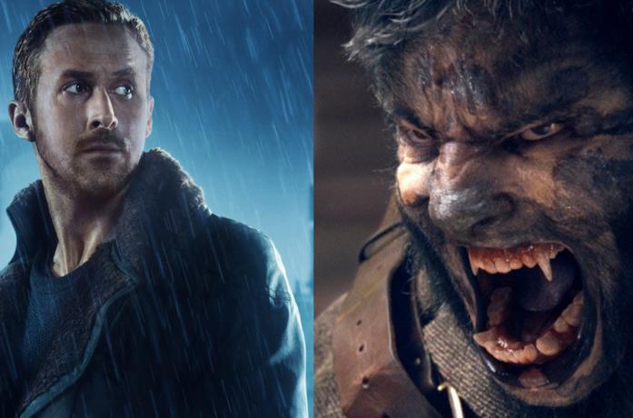 Collage tra Ryan Gosling e Wolfman