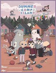 Summer Camp Island Coloring Book