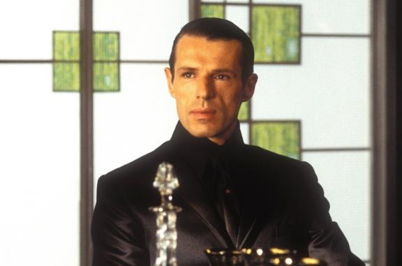 Lambert Wilson in una scena del film Matrix Reloaded
