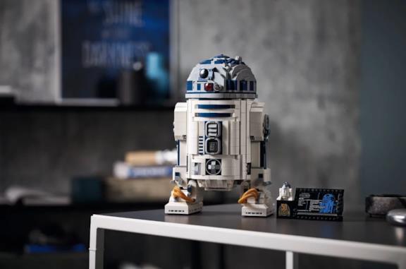 Una foto di R2-D2 in versione LEGO
