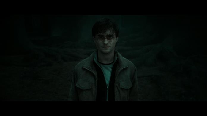 Harry Potter interpretato da Daniel Radcliffe