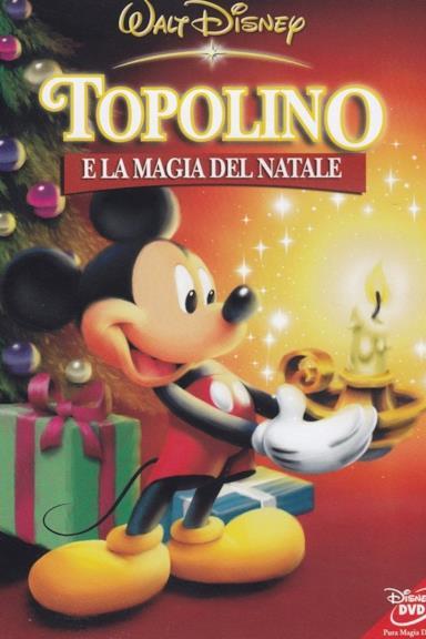 Poster Topolino e la magia del Natale
