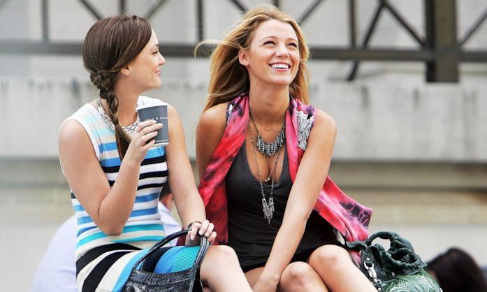 Una scena con Blair e Serena di Gossip Girl