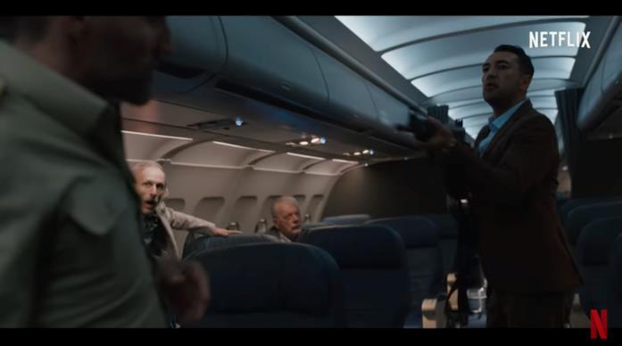 Una scena di Un volo ad alta tensione