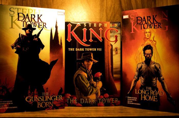 Alcuni libri della saga de La Torre Nera di Stephen King