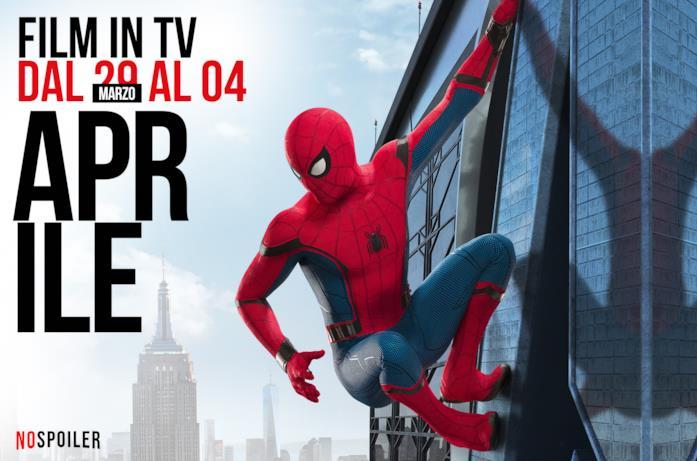 I film in TV dal 29 marzo al 4 aprile