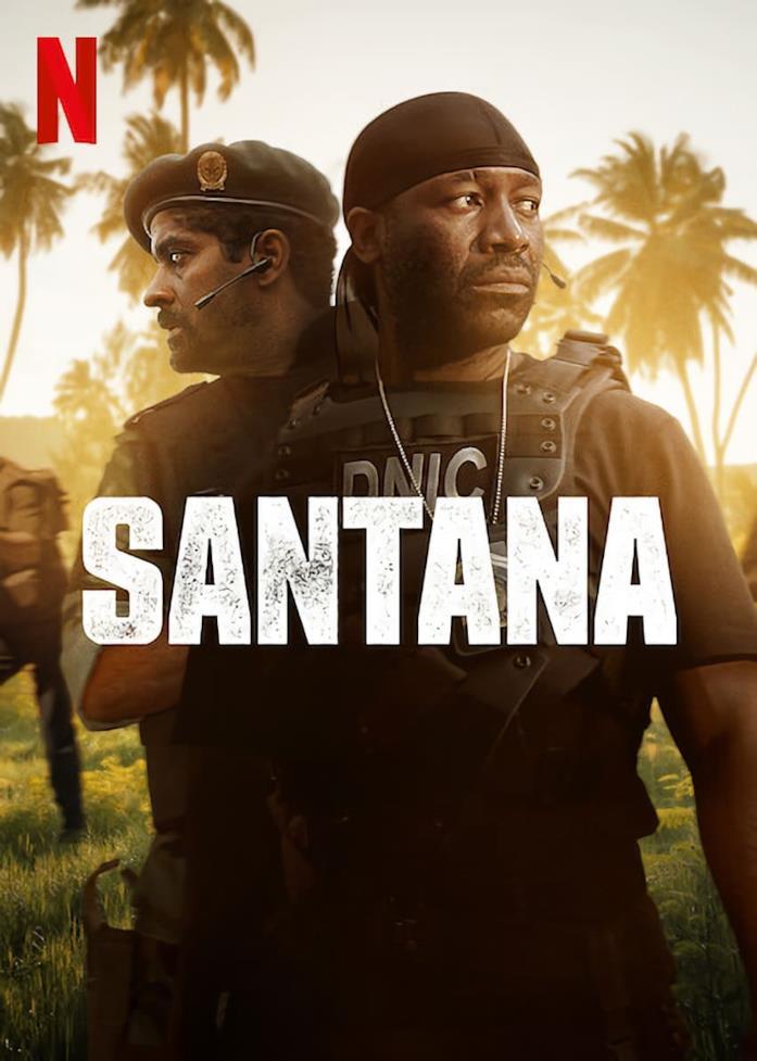 Santana: poster