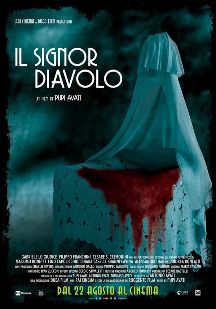 Il poster del film Il signor diavolo di Pupi Avati