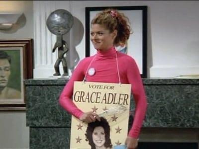 Debra Messing in Will & Grace