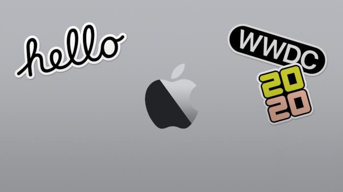 Il banner della WWDC 2020 di Apple