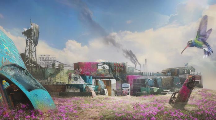 Far Cry New Dawn, concept art per l'ambientazione