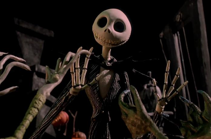 Jack Skellington, protagonista di Nightmare Before Christmas