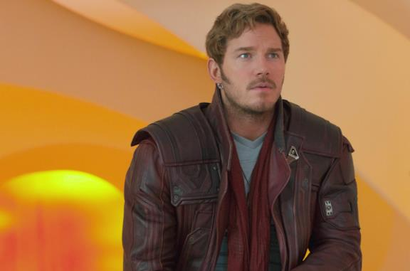 Chris Pratt è Star Lord in Guardiani della Galassia Vol. 2