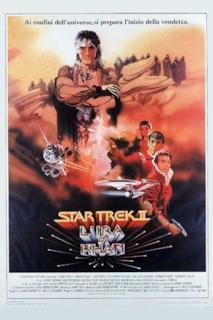 Poster Star Trek II - L'ira di Khan