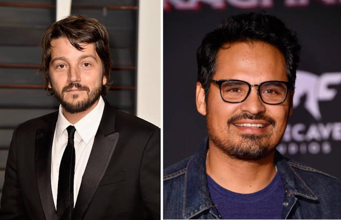 Collage di Diego Luna e Michael Peña
