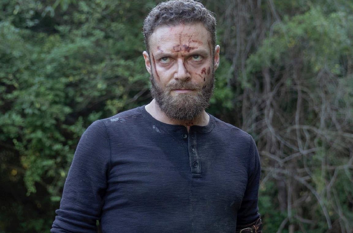L'attore Ross Marquand è Aaron nella serie The Walking Dead