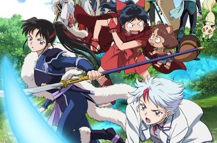 Le protagoniste del sequel di Inuyasha