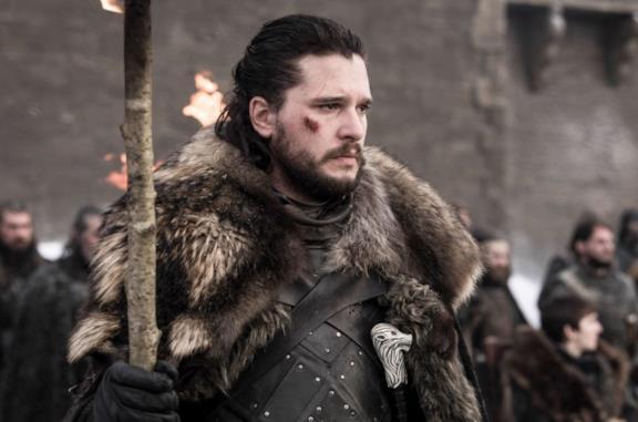 Kit Harington in Game of Thrones 8x04