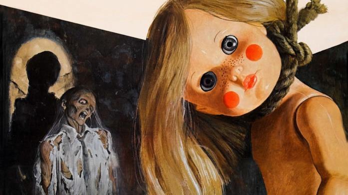 Un'immagine promozionale di Profondo Rosso, di Dario Argento