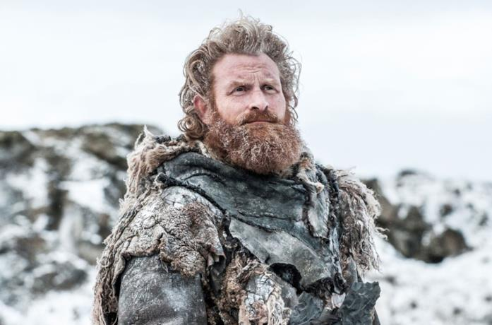 Kristofer Hivju nel ruolo di Tormund in Game of Thrones