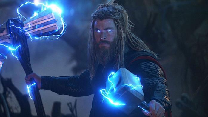 Un'immagine di Bro Thor in Avengers: Endgame
