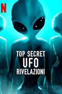 Poster Top Secret UFO - Rivelazioni