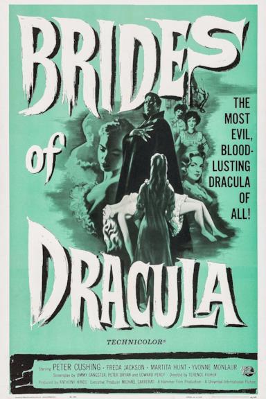 Poster Le spose di Dracula